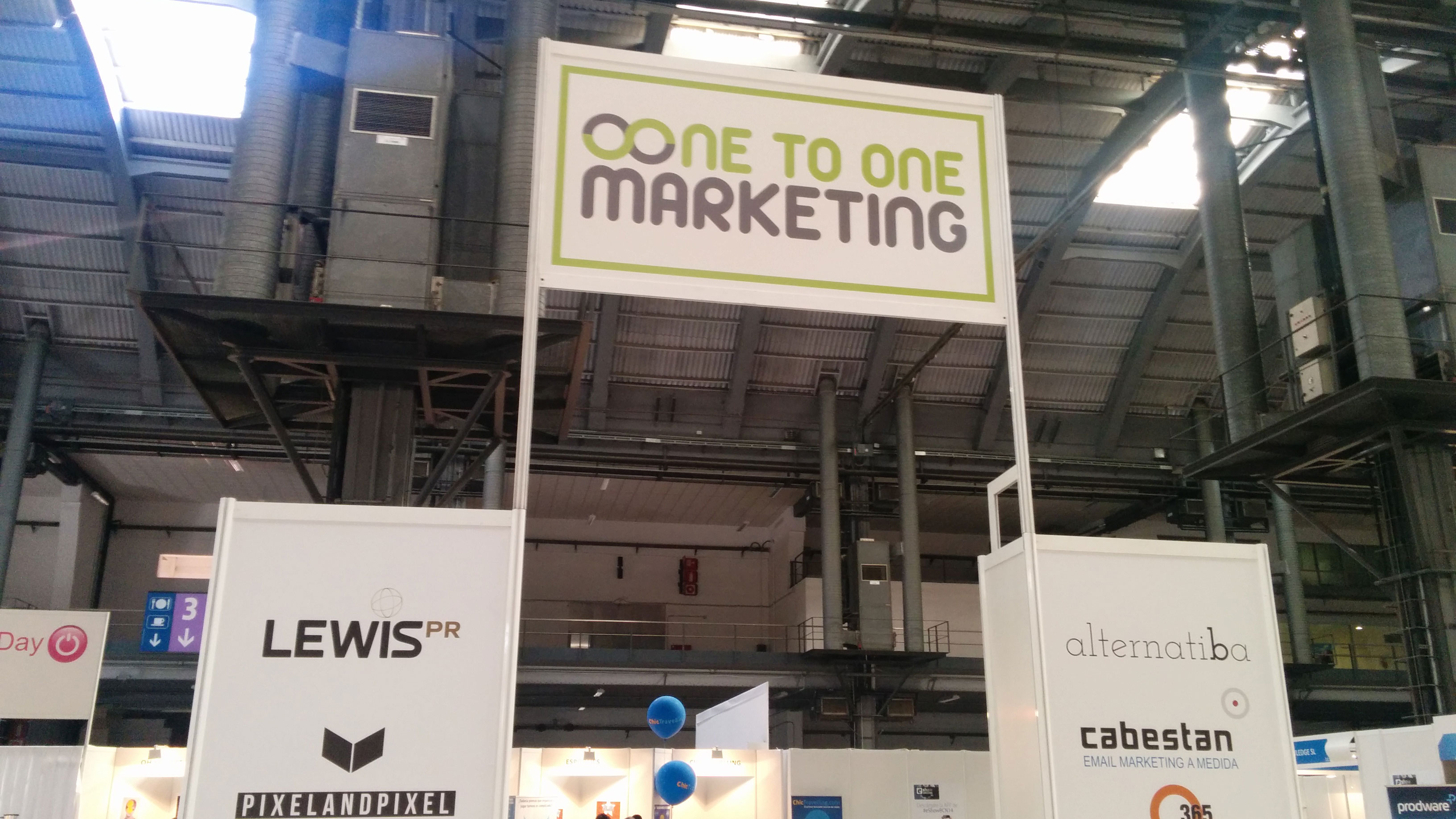 One To One Marketing en el eShow Barcelona