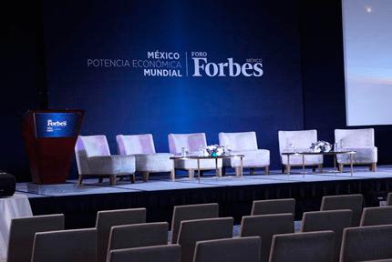 Hemos acudido de invitados al Foro Forbes México