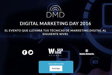 Nuestro equipo de marketing estará en el #DMD16 este sábado